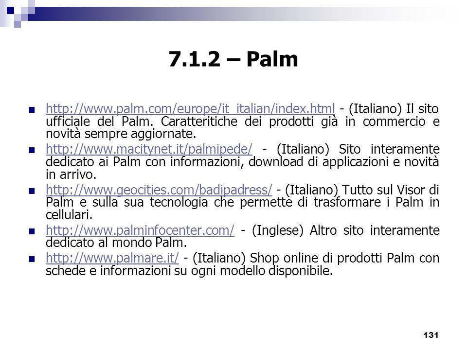 7.1.2 – Palm