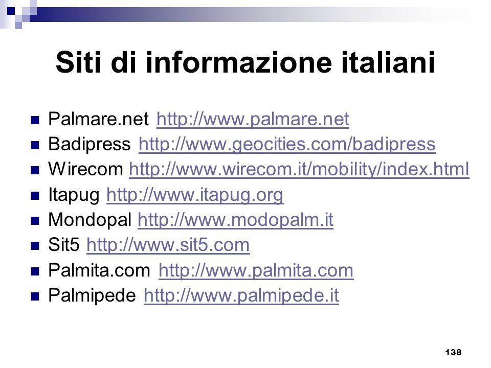Siti di informazione italiani