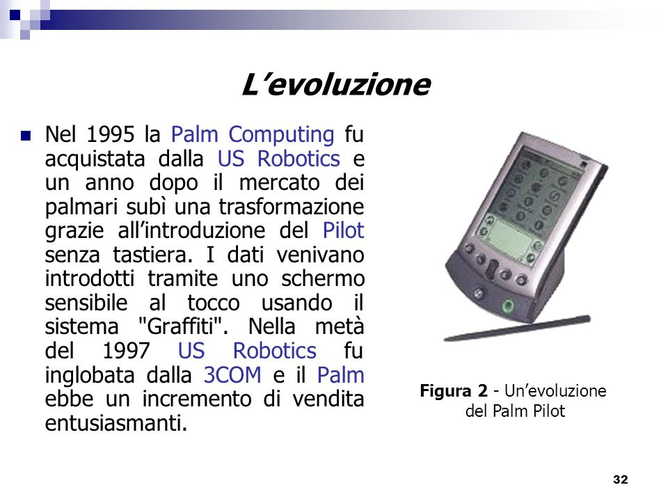Figura 2 - Un'evoluzione
