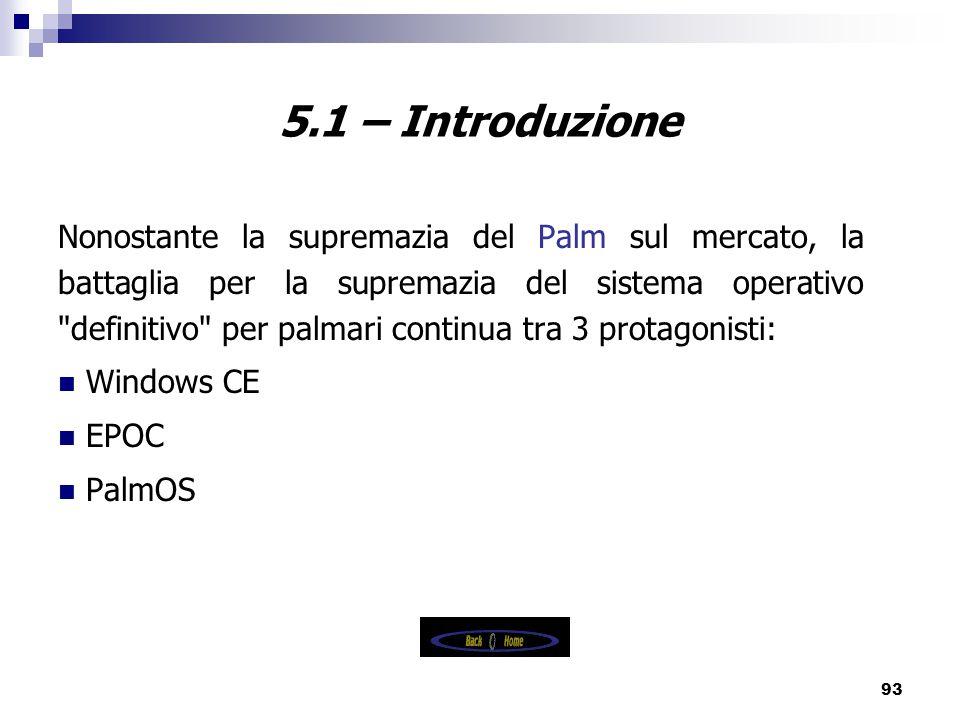 5.1 – Introduzione