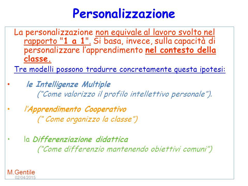 Personalizzazione
