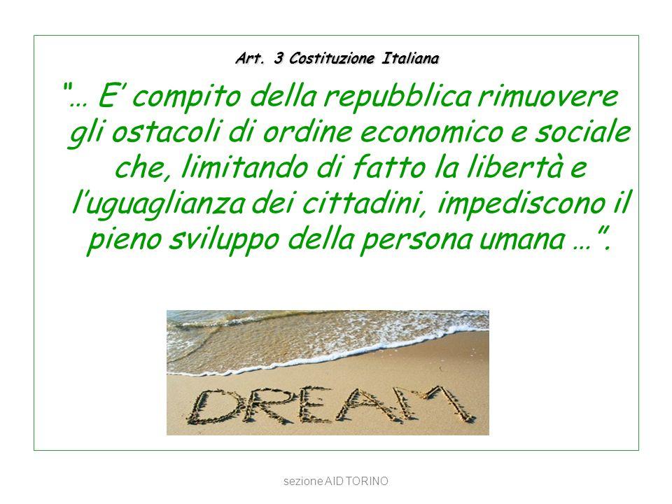 Art. 3 Costituzione Italiana