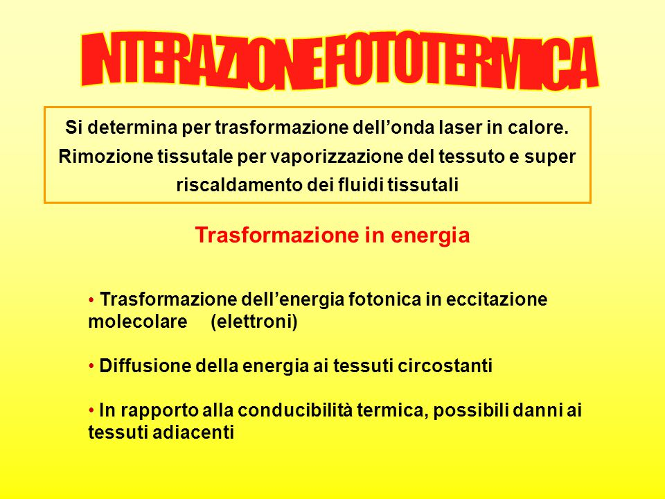 Trasformazione in energia