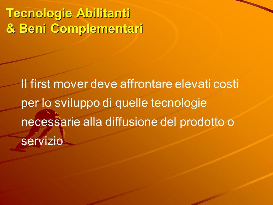 Tecnologie Abilitanti & Beni Complementari