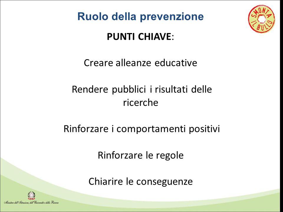 Ruolo della prevenzione