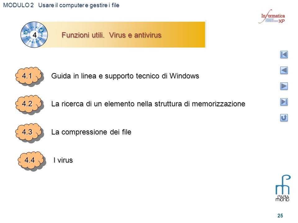 Funzioni utili. Virus e antivirus 4