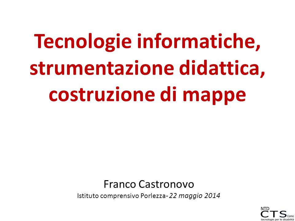 Franco Castronovo Istituto comprensivo Porlezza- 22 maggio 2014