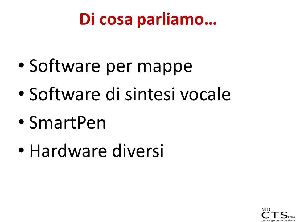 Software di sintesi vocale SmartPen Hardware diversi