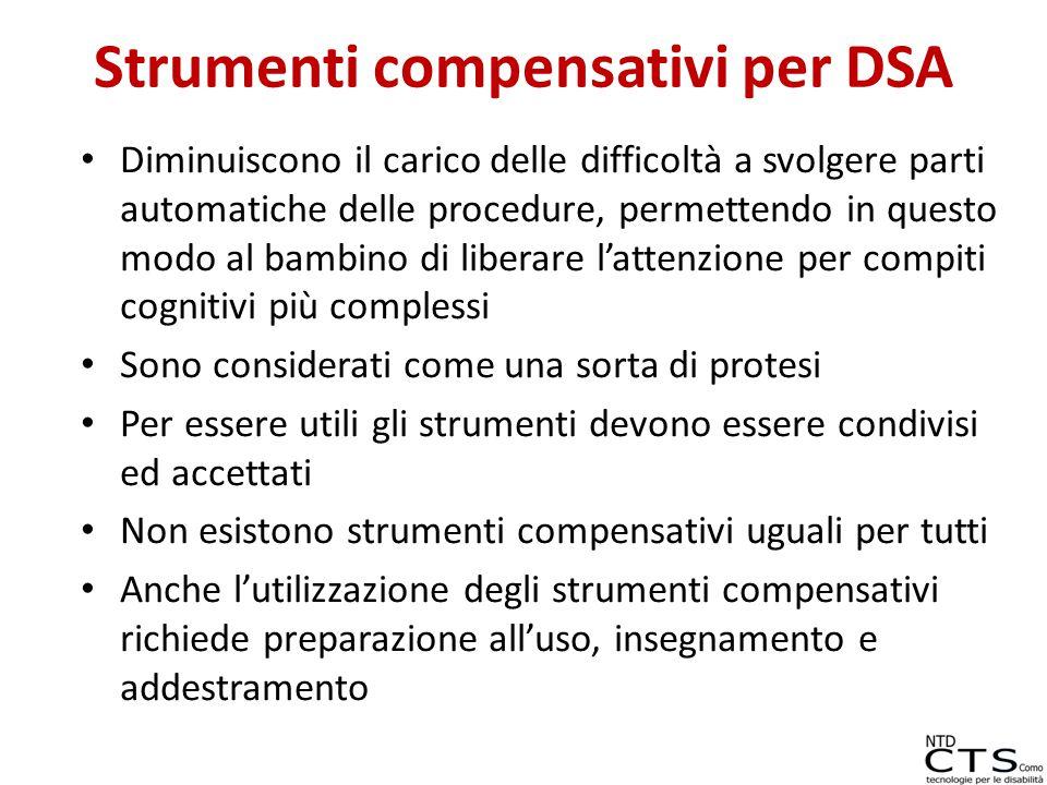 Strumenti compensativi per DSA