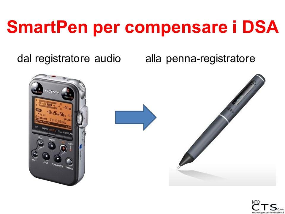 SmartPen per compensare i DSA