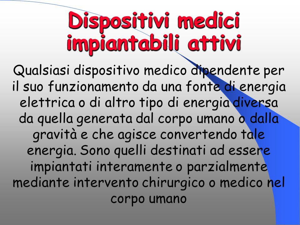 Dispositivi medici impiantabili attivi