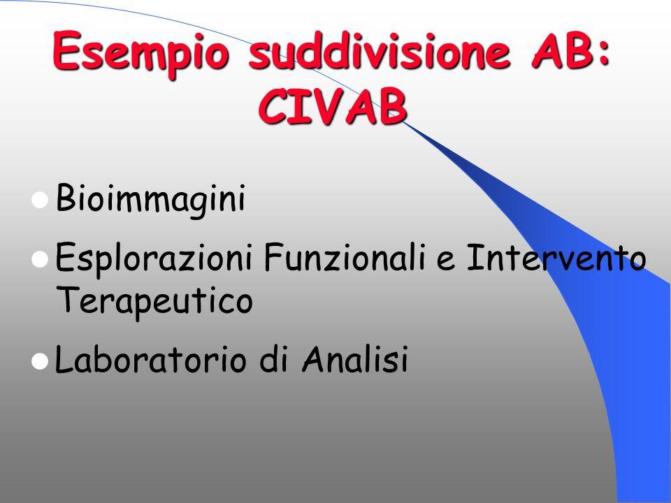 Esempio suddivisione AB: CIVAB