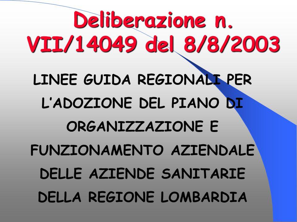 Deliberazione n. VII/14049 del 8/8/2003