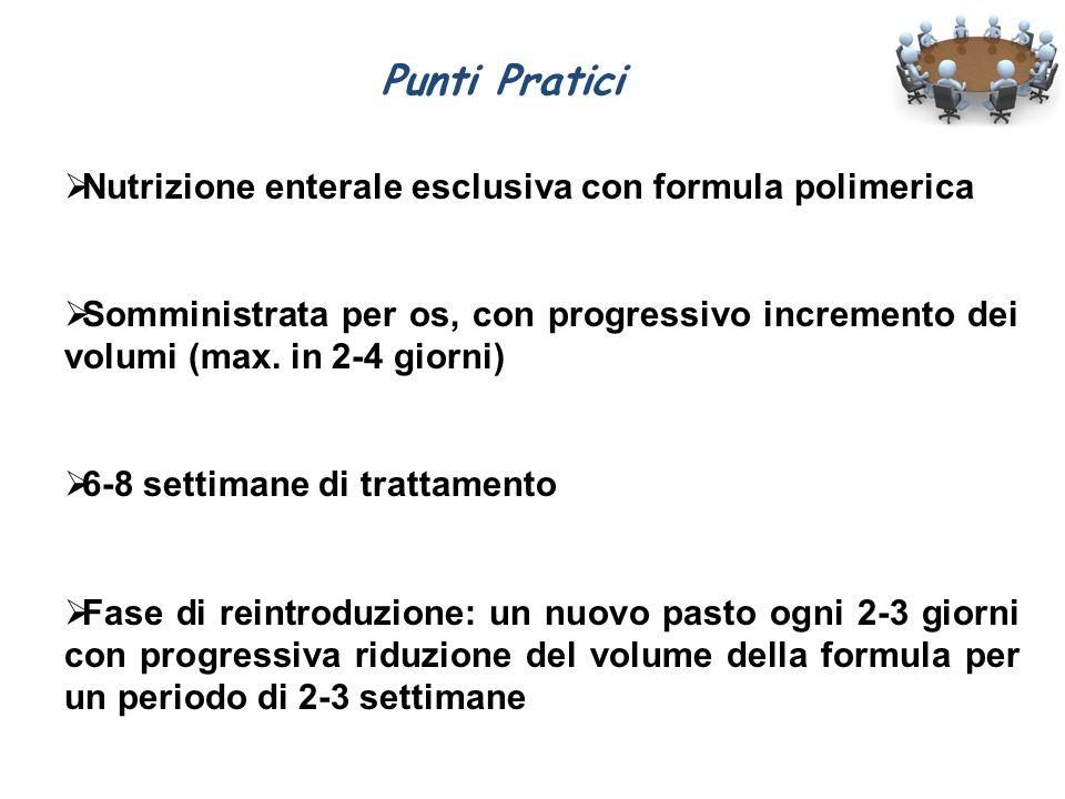 Punti Pratici Nutrizione enterale esclusiva con formula polimerica