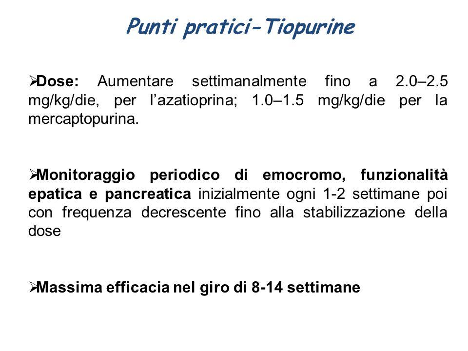 Punti pratici-Tiopurine