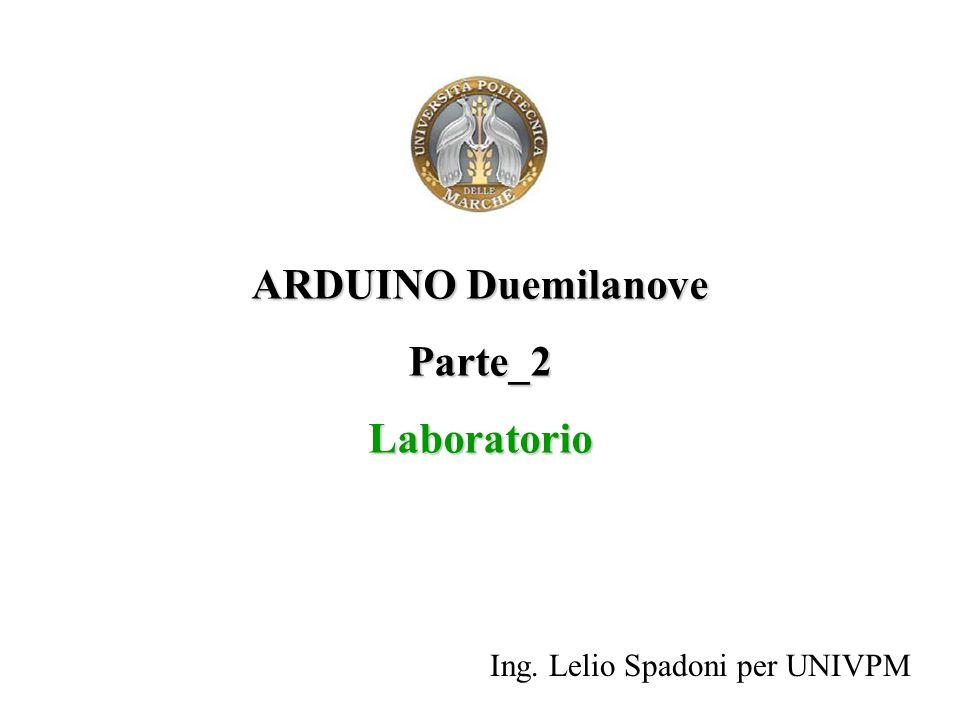 ARDUINO Duemilanove Parte_2 Laboratorio