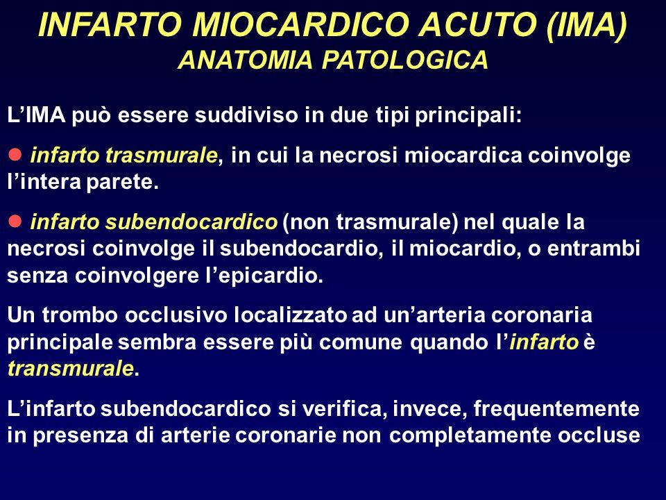 INFARTO MIOCARDICO ACUTO (IMA)