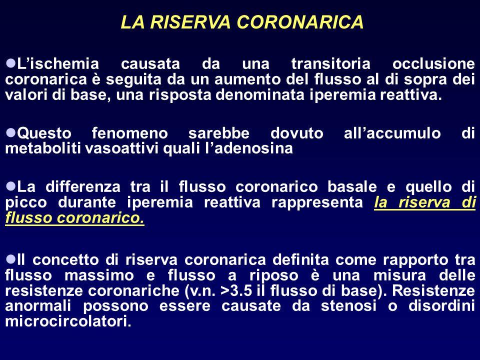 LA RISERVA CORONARICA