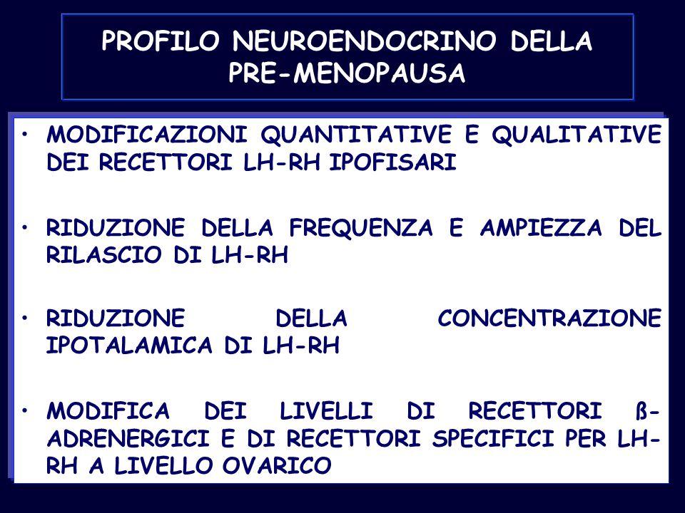 PROFILO NEUROENDOCRINO DELLA PRE-MENOPAUSA