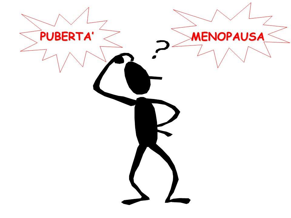 MENOPAUSA PUBERTA'