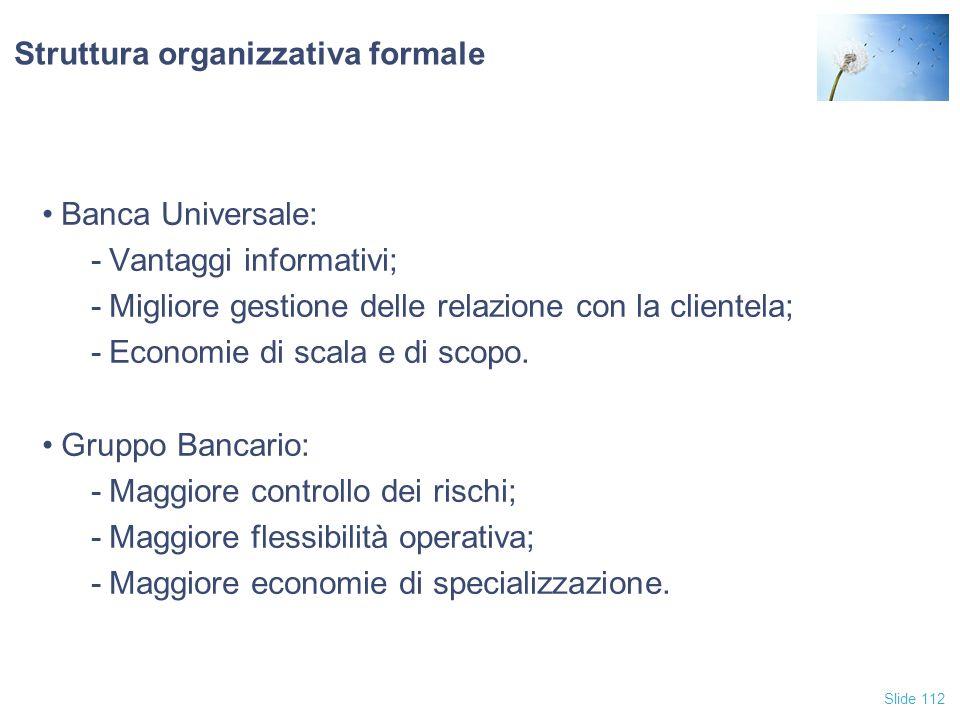 Struttura organizzativa formale