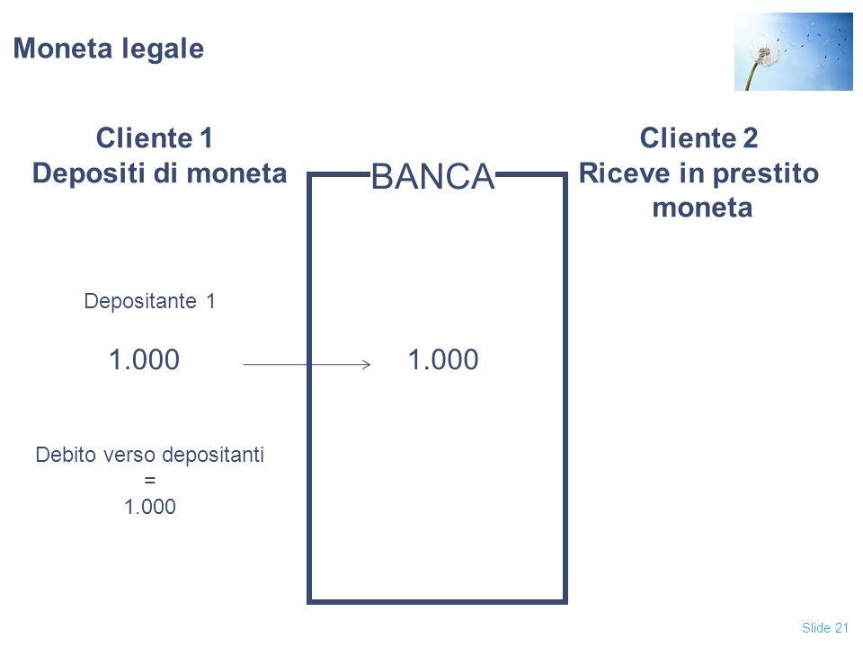 Debito verso depositanti