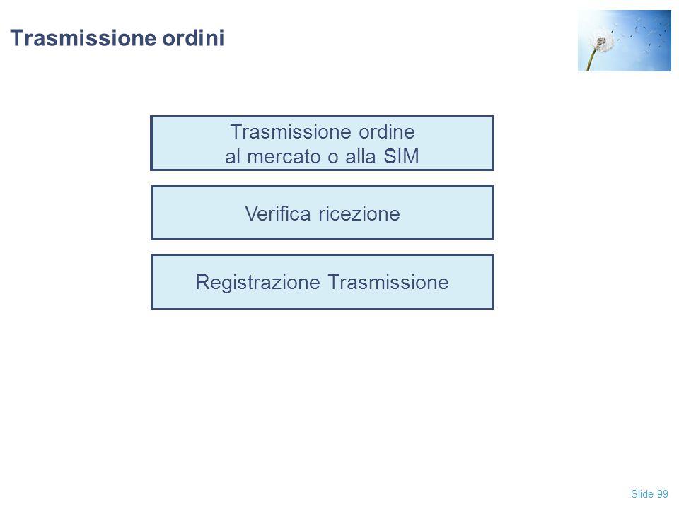 Registrazione Trasmissione