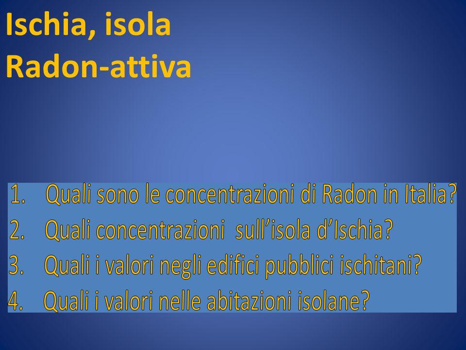 Ischia, isola Radon-attiva