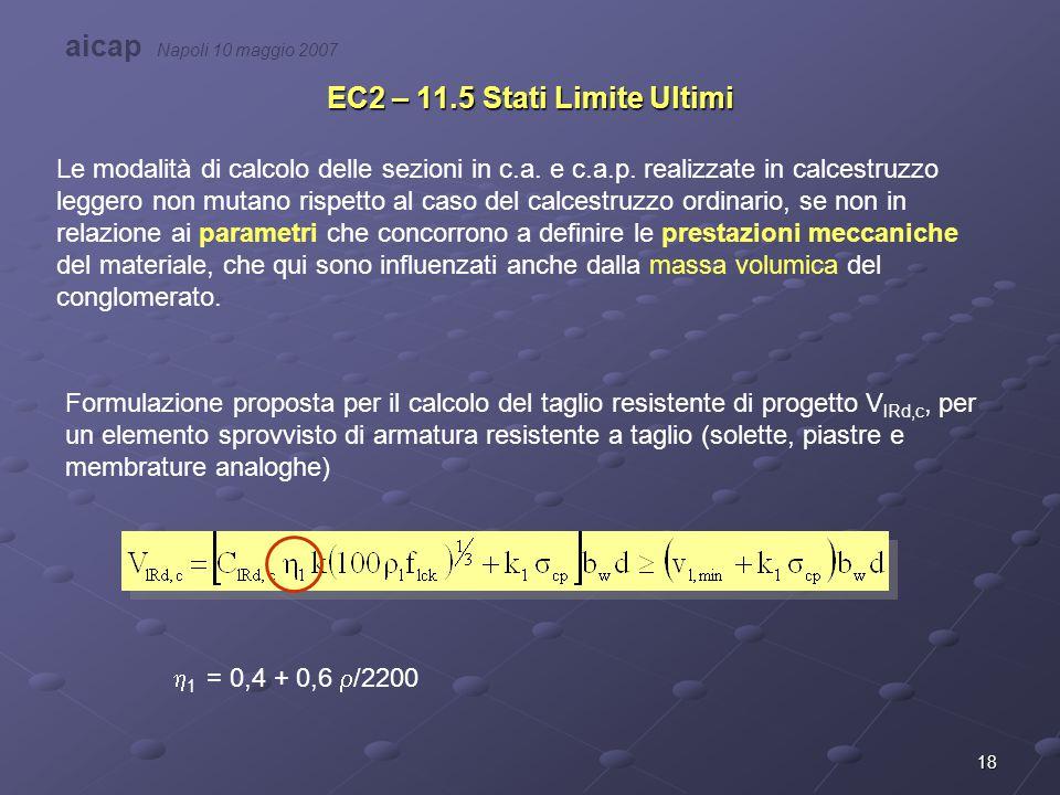 EC2 – 11.5 Stati Limite Ultimi