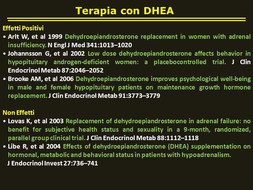 Terapia con DHEA Effetti Positivi