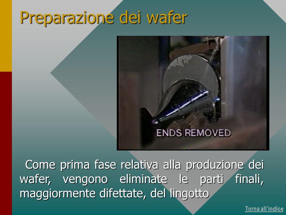 Produzione dei wafer 3 di 15