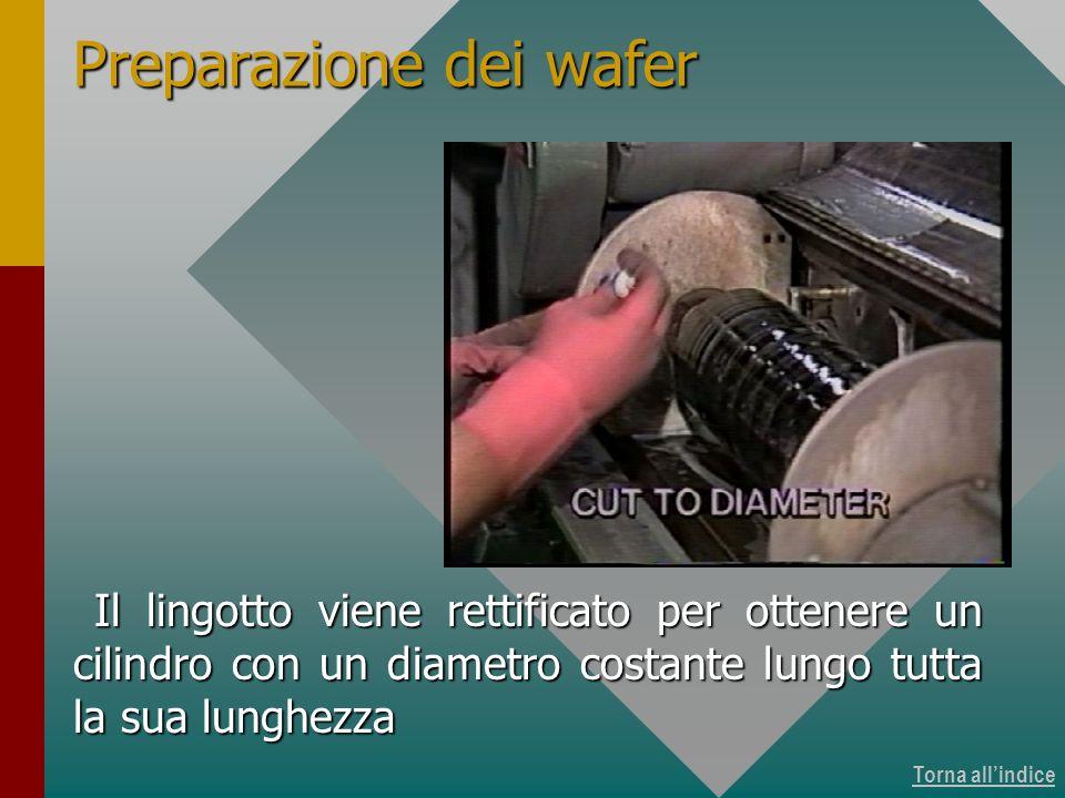Produzione dei wafer 4 di 15