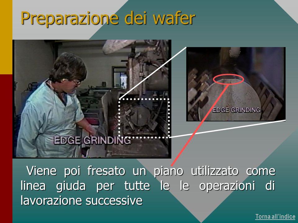 Produzione dei wafer 5 di 15