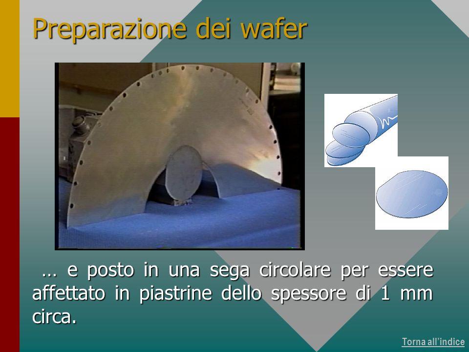 Produzione dei wafer 9 di 15