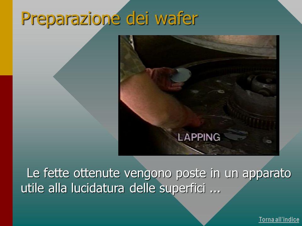 Produzione dei wafer 10 di 15