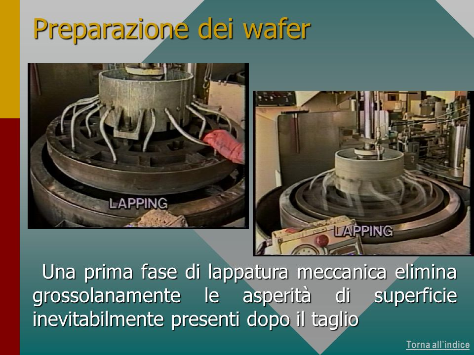 Produzione dei wafer 12 di 15