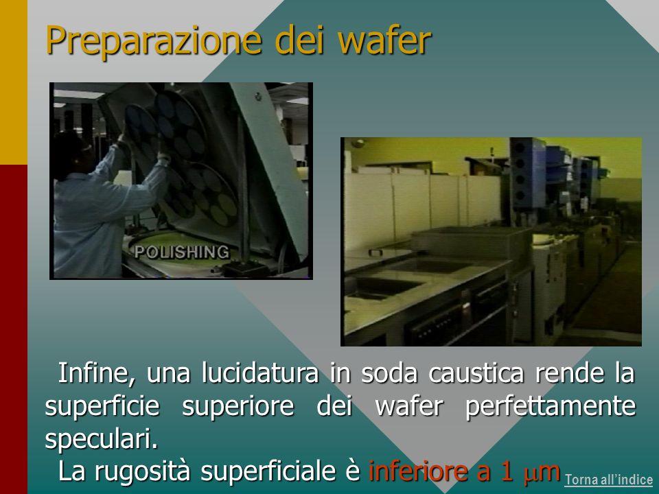 Produzione dei wafer 13 di 15