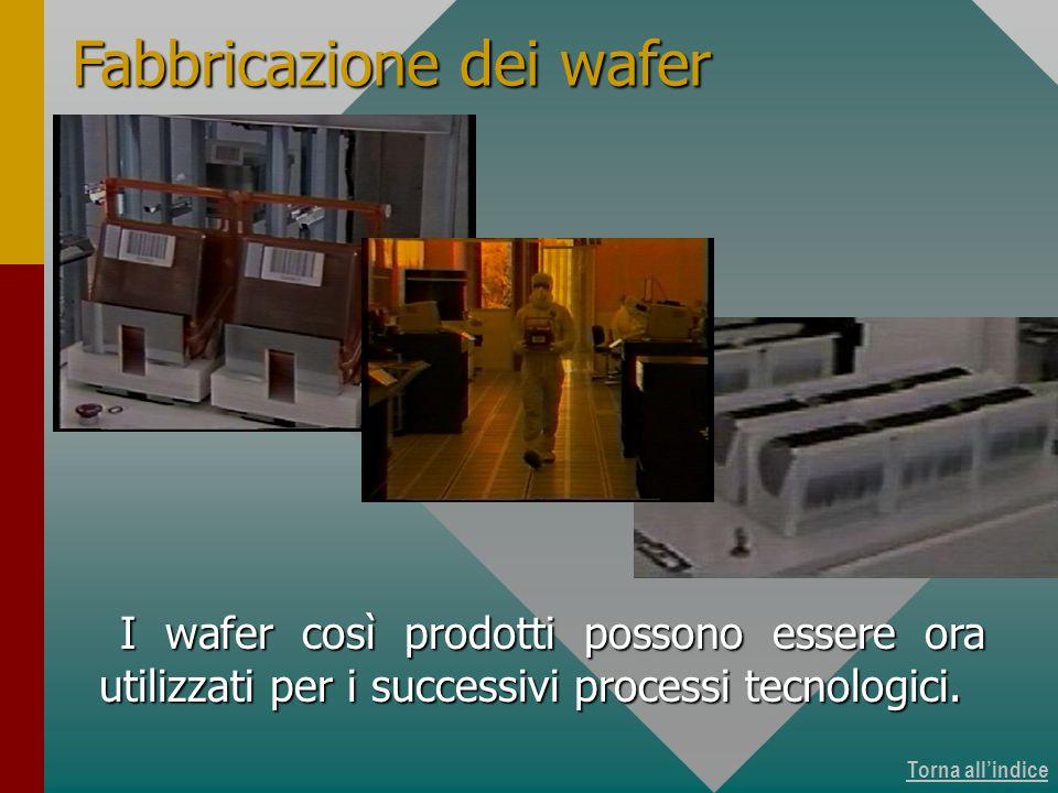Produzione dei wafer 15 di 15