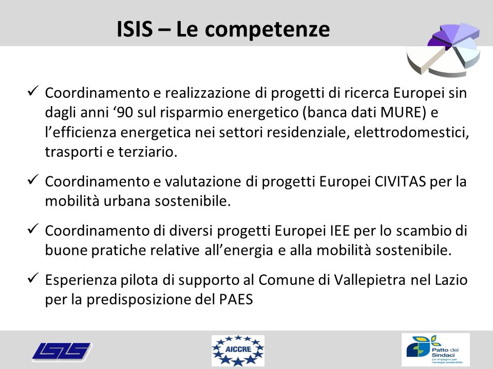 ISIS – Le competenze