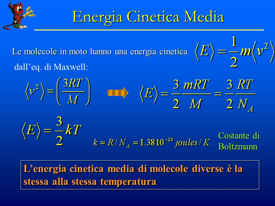 Energia Cinetica Media