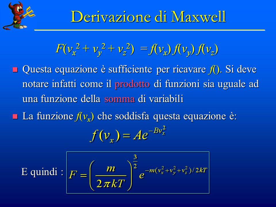 Derivazione di Maxwell