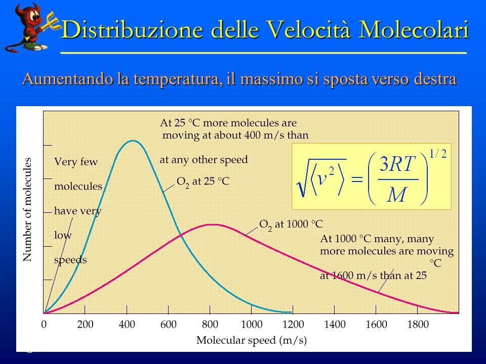 Distribuzione delle Velocità Molecolari