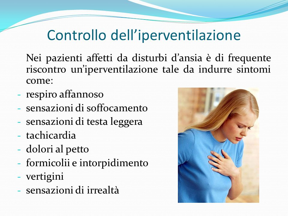 Controllo dell'iperventilazione