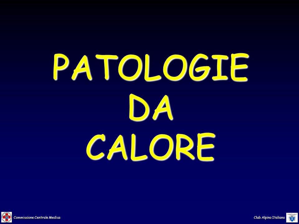 PATOLOGIE DA CALORE