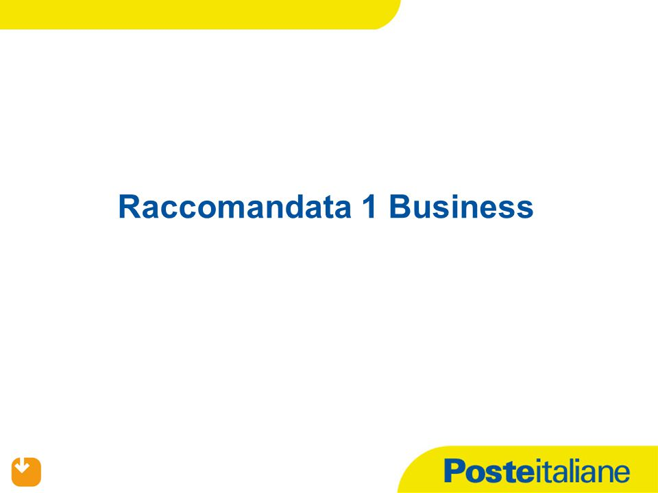 Raccomandata 1 Business
