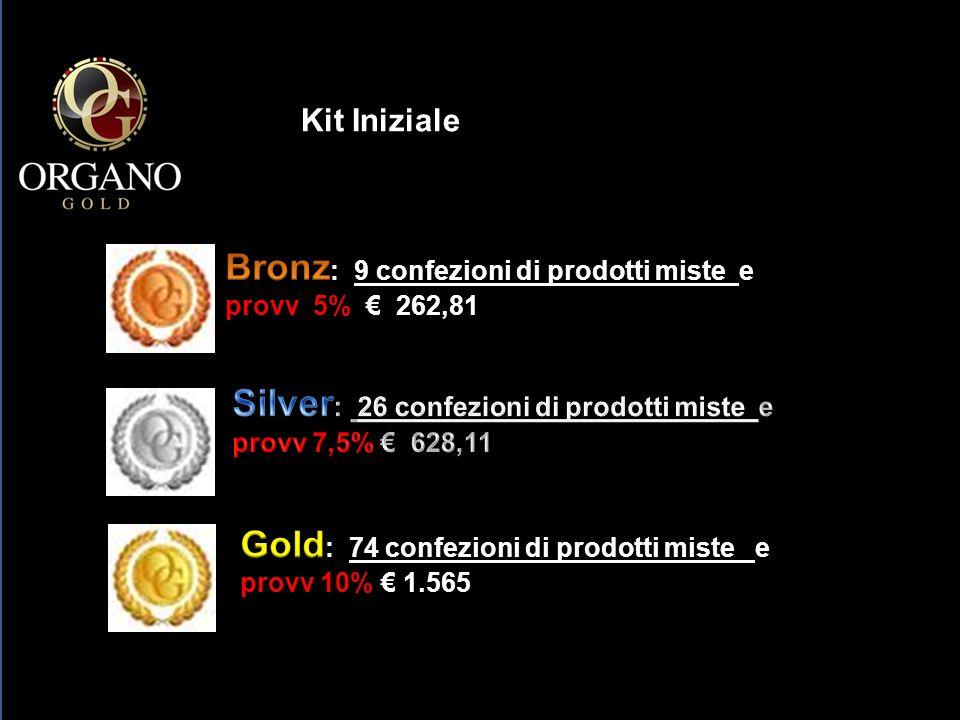 Bronz: 9 confezioni di prodotti miste e