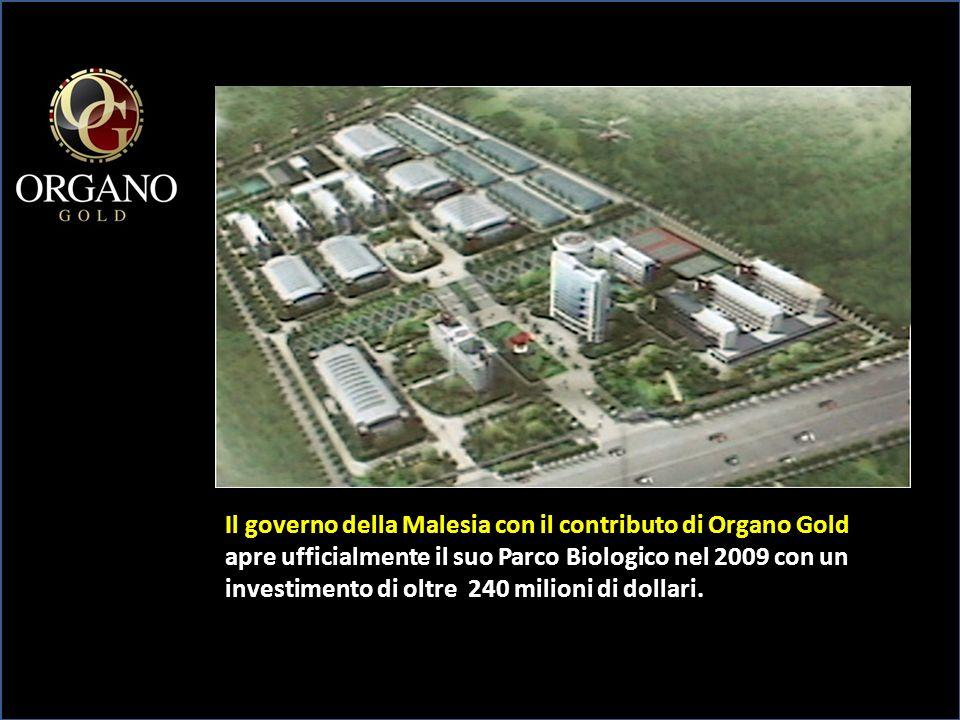 Il governo della Malesia con il contributo di Organo Gold apre ufficialmente il suo Parco Biologico nel 2009 con un investimento di oltre 240 milioni di dollari.