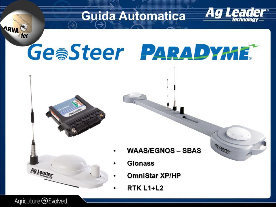 Guida Automatica WAAS/EGNOS – SBAS Glonass OmniStar XP/HP RTK L1+L2