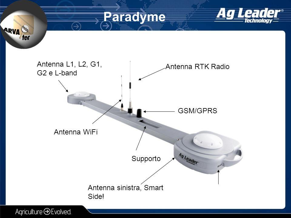 Paradyme Antenna L1, L2, G1, G2 e L-band Antenna RTK Radio GSM/GPRS