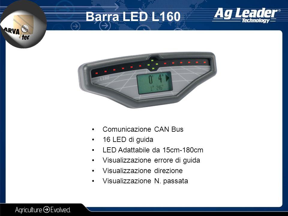 Barra LED L160 Comunicazione CAN Bus 16 LED di guida